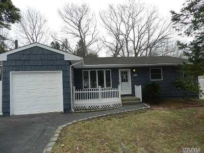 Ronkonkoma Single Family Home For Sale: 474 Ontario St