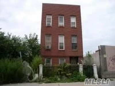 Brooklyn Multi Family Home For Sale: 2154 Bergen St