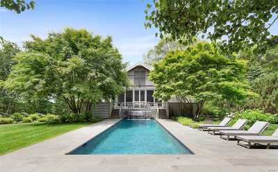 Bridgehampton Single Family Home For Sale: 9 Paumanok