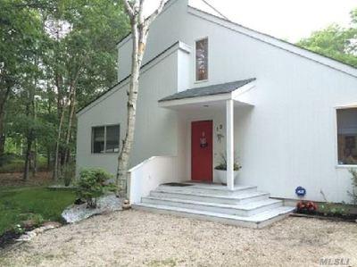 Quogue Single Family Home For Sale: 13 Elizabeth Ln