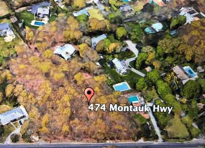Westhampton Bch Residential Lots & Land For Sale: 474 Montauk Hwy