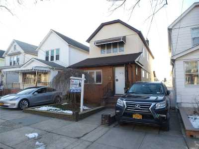 Flushing Multi Family Home For Sale: 59-32 162nd St