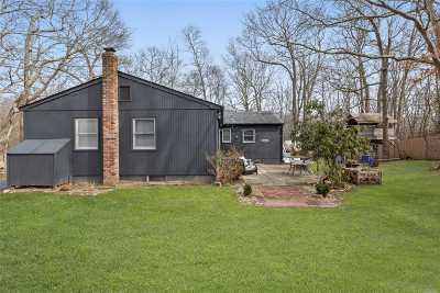 Sag Harbor Single Family Home For Sale: 2367 Noyac Rd