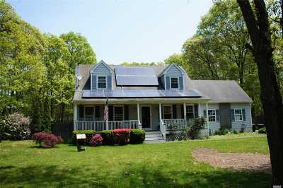 Center Moriches Single Family Home For Sale: 9 Black Pine St