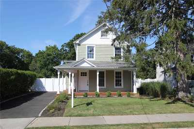Sayville Single Family Home For Sale: 54 Candee Ave