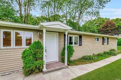 Ronkonkoma Single Family Home For Sale: 482 Thrift St