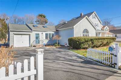 Smithtown Single Family Home For Sale: 173 Maple Ave