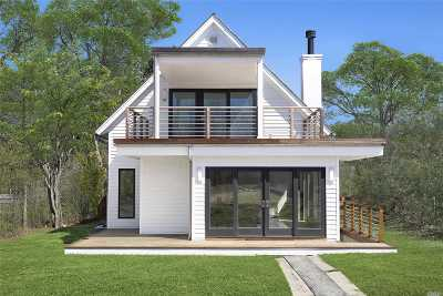 Montauk Single Family Home For Sale: 55 Seaside Avenue
