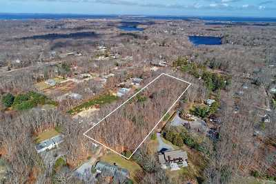 Southampton Residential Lots & Land For Sale: 90 N Sea Mecox Rd