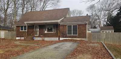 Mastic Single Family Home For Sale: 17 Wills Ave