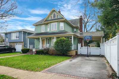 Merrick Single Family Home For Sale: 67 Gregory Ave