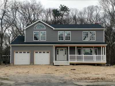 Centereach Single Family Home For Sale: Lot #1 N Coleman Rd