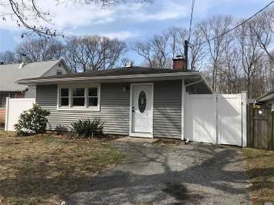 Mastic Single Family Home For Sale: 197a Patchogue Ave