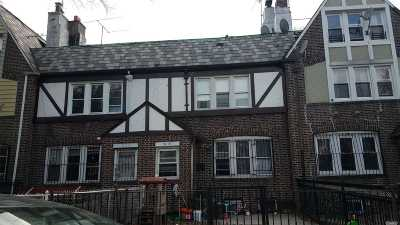 Jackson Heights Multi Family Home For Sale: 34-30 72 St