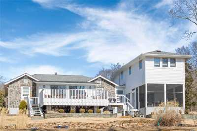 Cutchogue Single Family Home For Sale: 3700 Wunneweta Rd