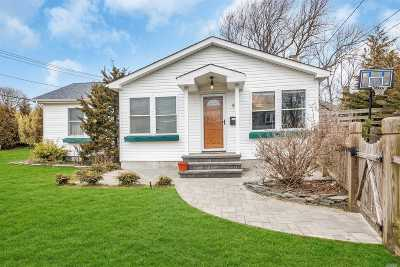 Blue Point Single Family Home For Sale: 5 Park St