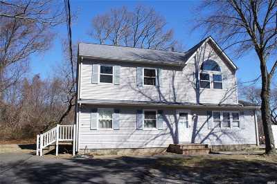 Mastic Single Family Home For Sale: 209 Mastic Blvd
