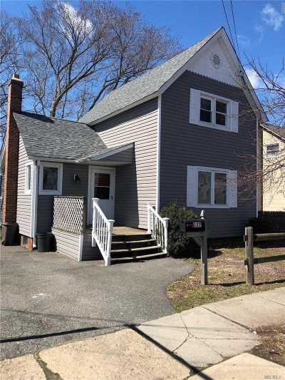 Lindenhurst Single Family Home For Sale: 177 S 1st St