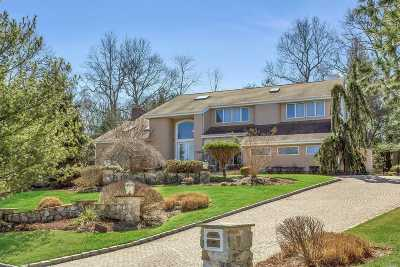 Dix Hills Single Family Home For Sale: 40 Hunting Hollow Ct