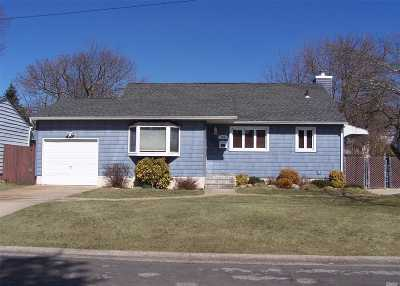 W. Babylon Single Family Home For Sale: 205 Justice St