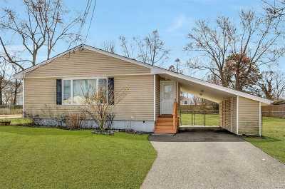 Centereach Single Family Home For Sale: 10 Washington Ave