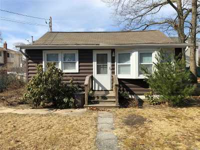 Ronkonkoma Single Family Home For Sale: 57 4th St