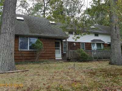 Middle Island Single Family Home For Sale: 21 E Bartlett Rd
