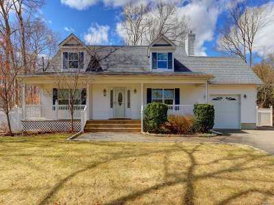Moriches Single Family Home For Sale: 30 3rd St