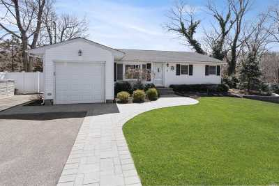 Ronkonkoma Single Family Home For Sale: 18 Millers Ct