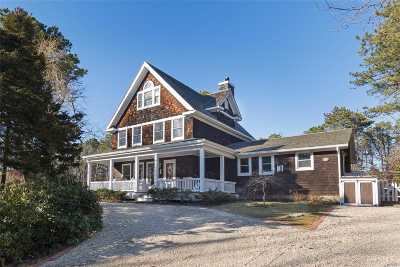 Southampton Single Family Home For Sale: 409 Canoe Place Rd
