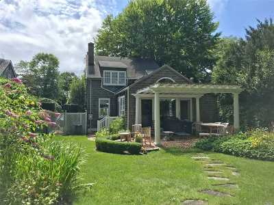 Sag Harbor Single Family Home For Sale: 44 Glover St