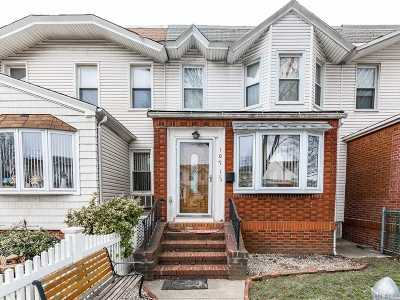 Kew Gardens, Richmond Hill Single Family Home For Sale: 107-18 111th St