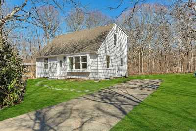 East Hampton Single Family Home For Sale: 8 Cedar St