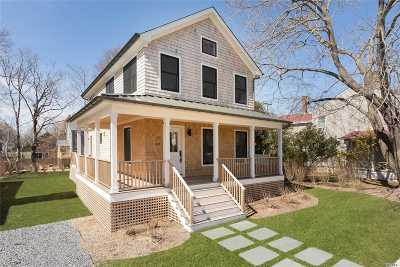 Greenport Single Family Home For Sale: 437 2nd St