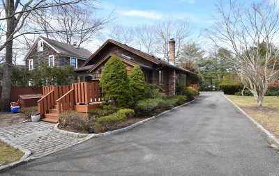 Quogue Single Family Home For Sale: 72 Montauk Hwy