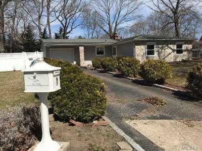 Centereach Single Family Home For Sale: 9 Song Sparrow Ln