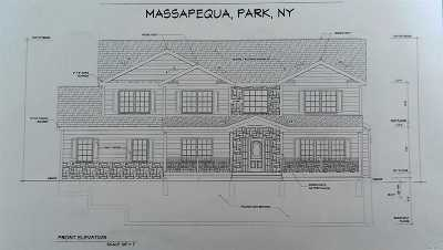 Massapequa Park Single Family Home For Sale: 118 Harding St
