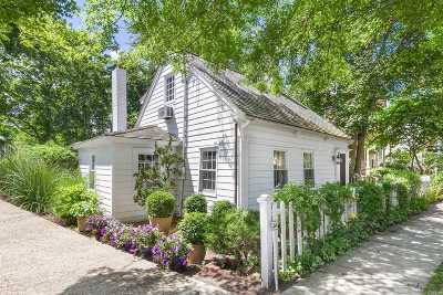 Sag Harbor Single Family Home For Sale: 64 Union St