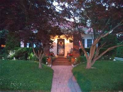 Rockville Centre Single Family Home For Sale: 31 Hollywood Ct