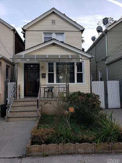 Ozone Park Single Family Home For Sale: 84-10 107th Ave