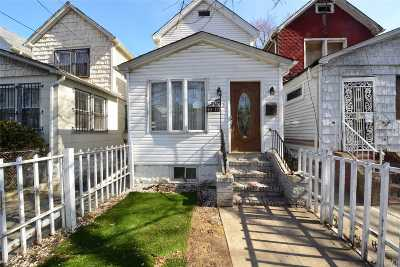 Jamaica Single Family Home For Sale: 119-17 146th St