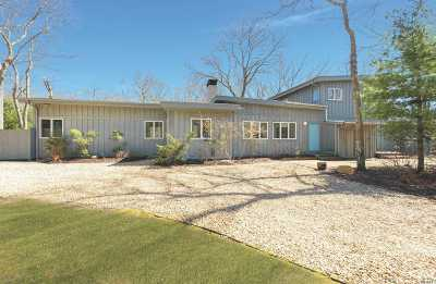 Amagansett Single Family Home For Sale: 375 Abrahams Path