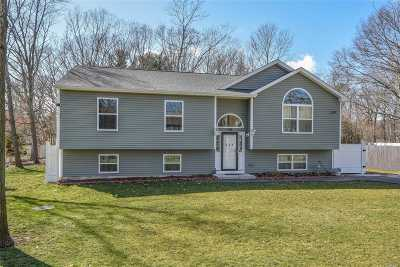 Shirley Single Family Home For Sale: 355 Wellwood Dr