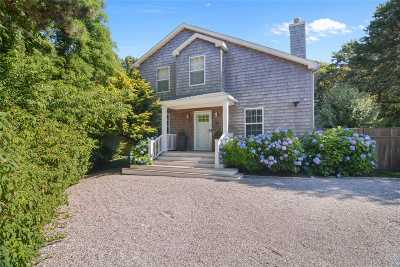 Southampton Single Family Home For Sale: 30 Longview Rd