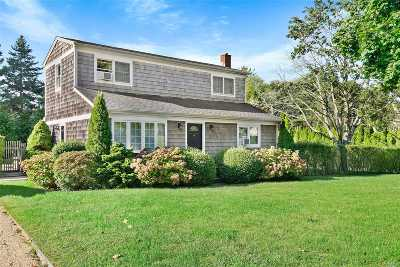Southampton Single Family Home For Sale: 40 Center St