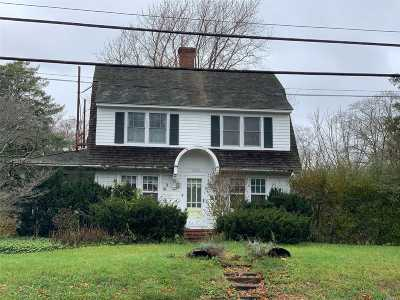 Mattituck Single Family Home For Sale: 11875 Main Rd