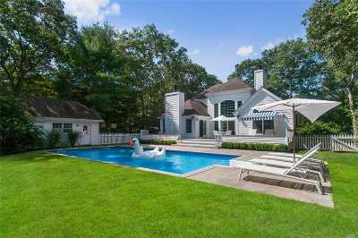 Bridgehampton Single Family Home For Sale: 25 Tansey Ln
