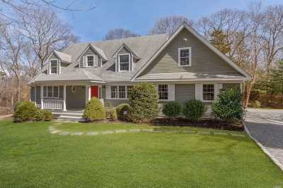 Sag Harbor Single Family Home For Sale: 23 Tredwell Ln