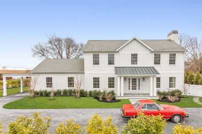 Sag Harbor Single Family Home For Sale: 6 Ridge Dr