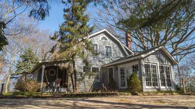 Baiting Hollow Single Family Home For Sale: 2306 Sound Ave